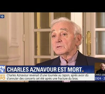 Hommage à Charles #Aznavour (1924 - 2018 )