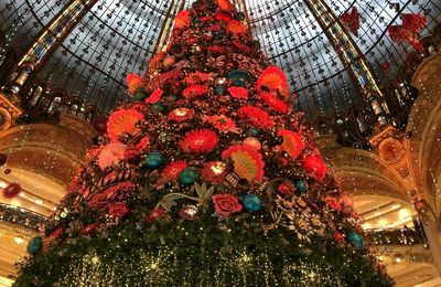 Galeries Lafayette 2019 le sapin