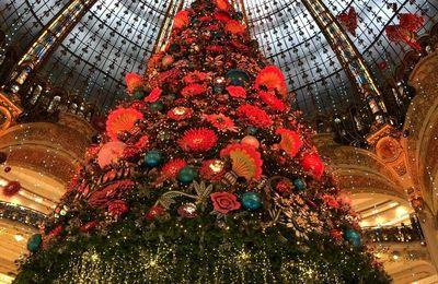 Galeries Lafayette 2019 le sapin