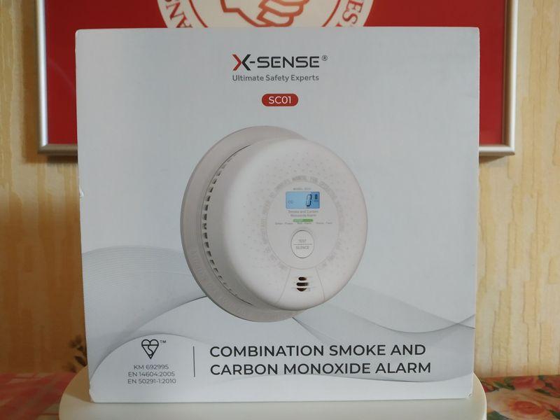 unboxing du détecteur de fumée et monoxyde de carbone X-Sense SC01 @ Tests et Bons Plans