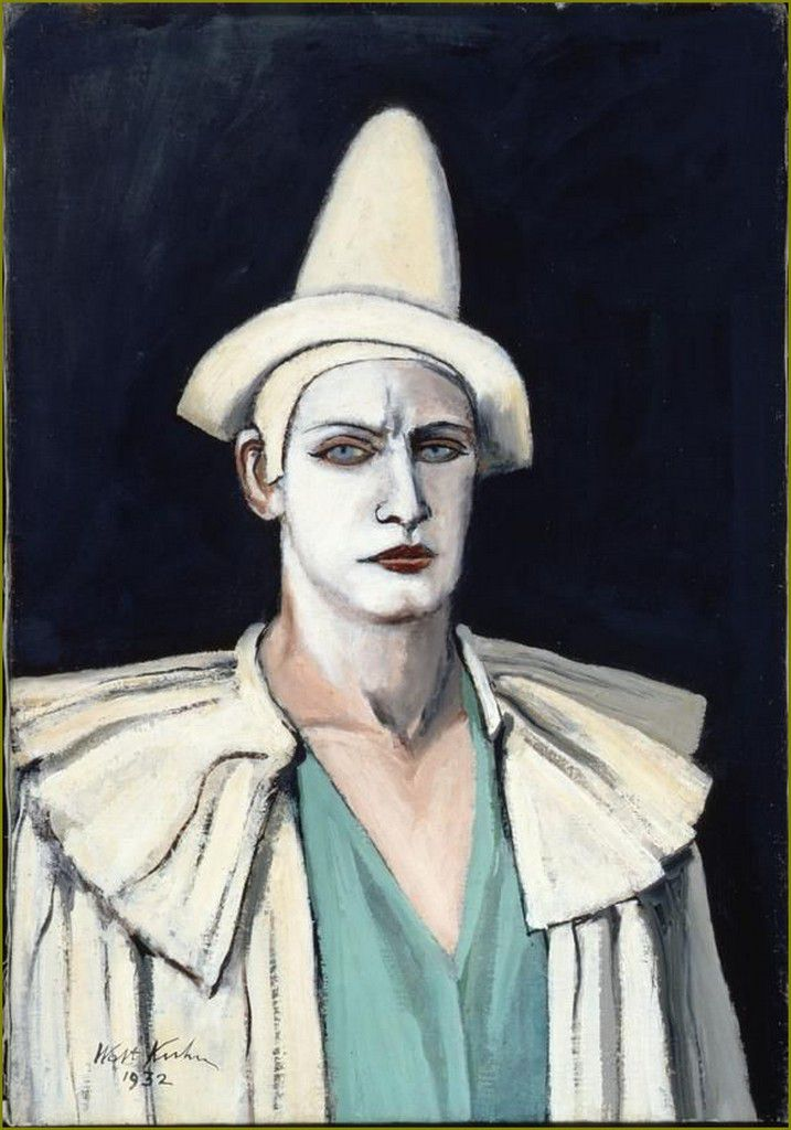 Clowns en peinture -  Walt Kuhn