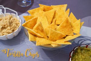 Les chips tortillas maison