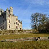 Le château de Sédières à Clergoux (Corrèze) - Les Photos de Sébastien Colpin