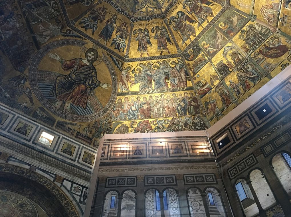 Florencia, Baptisterio de San Giovanni y Museo de la Opera.