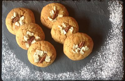 Cookies chocolat blanc/noix de pécan