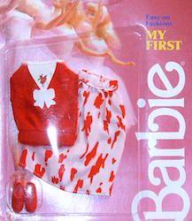 1987 BARBIE CLOTHES