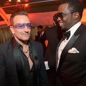 Bono & Sean Combs - U2 BLOG