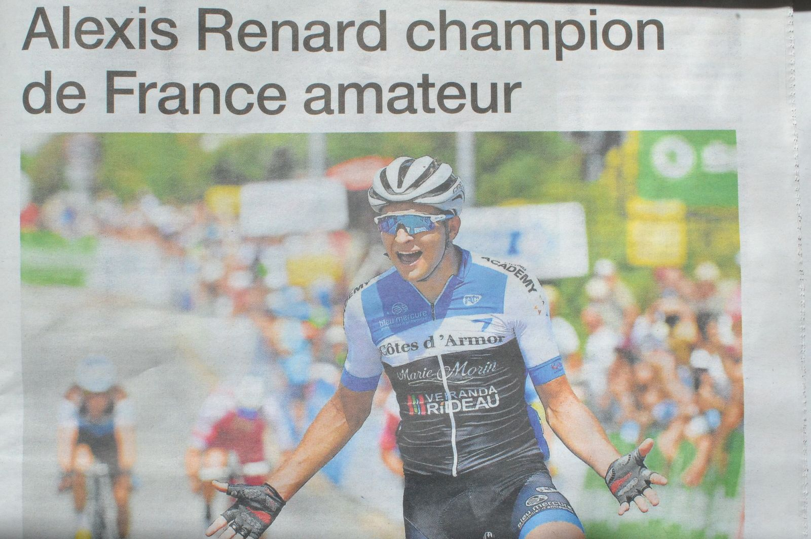 Aléxis RENARD Champion de France Amateurs en 2019.