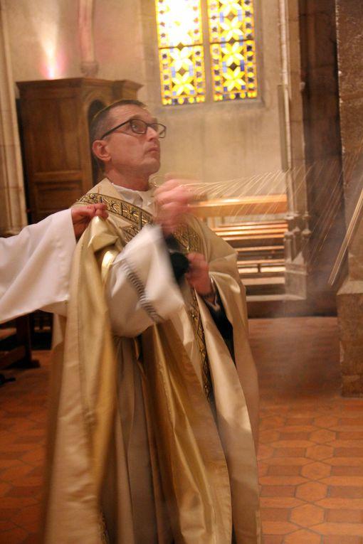 Baptême, Confirmation et Communion eucharistique de Cyrille au cours de la Vigile Pascale