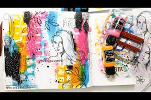 Art Journal_Magic is..._MixedMedia