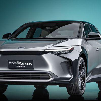 BZ4x: le SUV électrique Toyota à Shanghai !