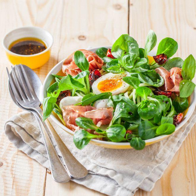 Salade de mâche a l'italienne
