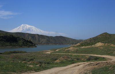 Armenia 2019 - 8 - Khor Virap and the Great and the Lesser Ararat.