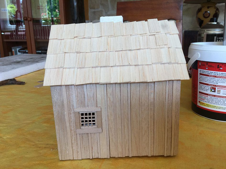 La petite maison dans la prairie (maquette) - Little house on the prairie (model)