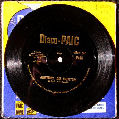Disco-PAIC - Souvenirs des musettes