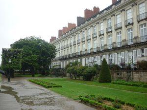 Quartier et Musée Dobré - Le Square Cambronne - le théatre Graslin - Place Graslin (la cigale) -