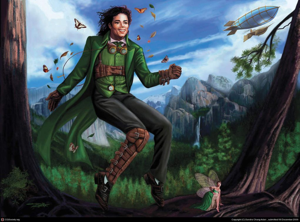 Michael Jackson en Peter Pan.