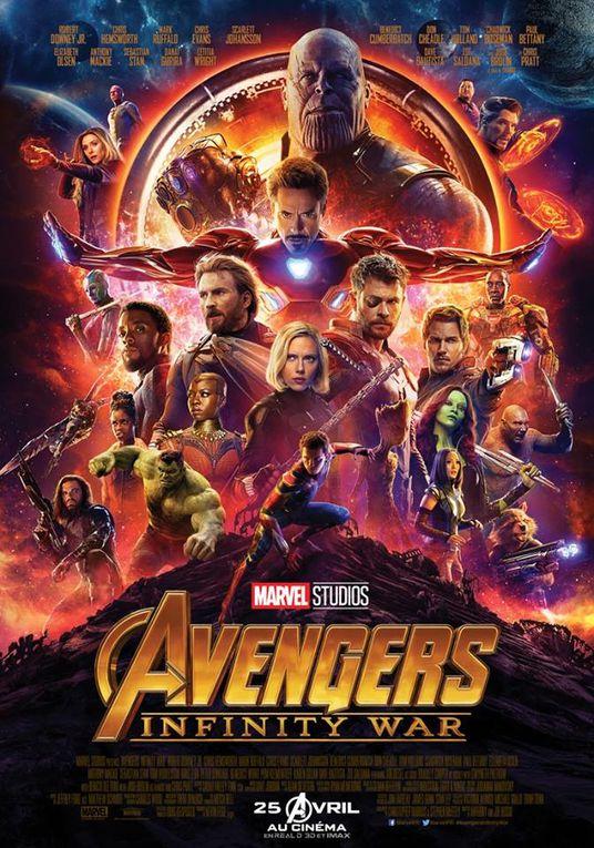 #Cinema #Marvel - DÉCOUVREZ LES NOUVELLES AFFICHES DU FILM ÉVÉNEMENT : AVENGERS INFINITY WAR !