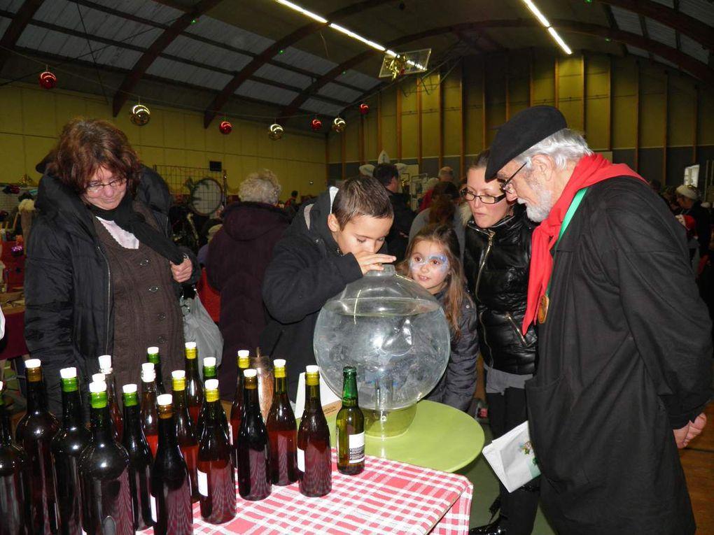 Marché de Noël du 7 décembre 2014 à Pré-en-Pail.
