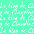Le blog de Claudine