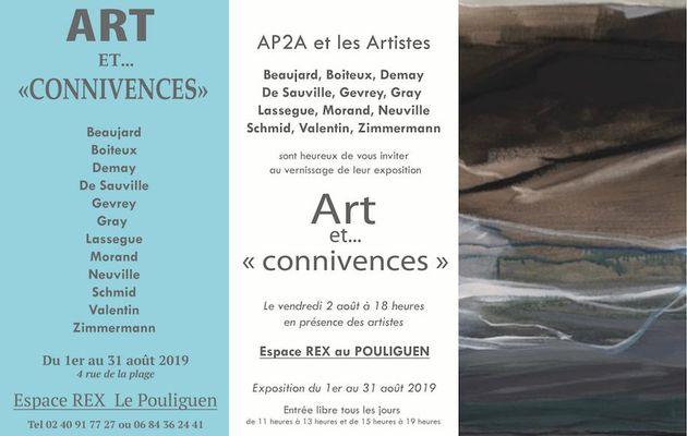 Le Pouliguen - Art et Connivences jusqu'au 31 août