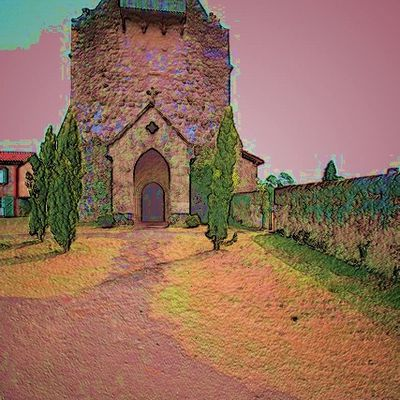 Eglise fortifiée de VIELLE SOUBIRAN