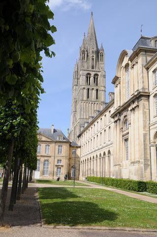 Journée d'étude à Caen : l'abbaye aux Hommes