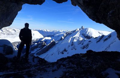 Ski de rando : Trou de la Mouche