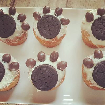 Cupcakes Pattes d'ours