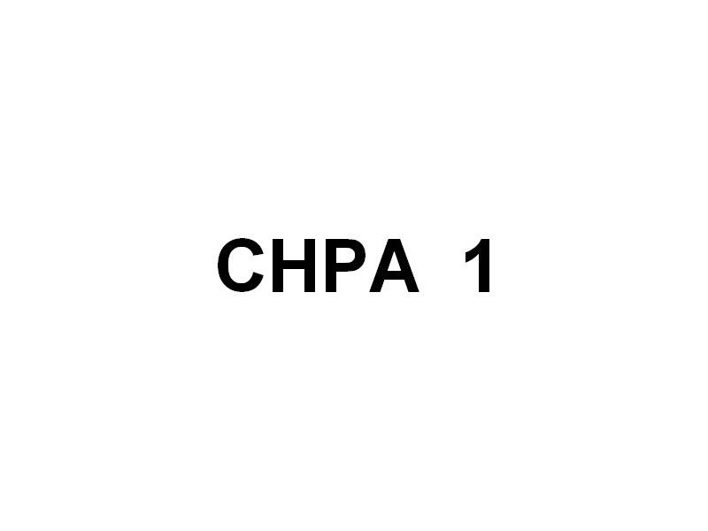 Barges CHPA 1