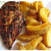 Blancs de poulets grillés sauce chili, ail et gingembre - www.sucreetepices.com