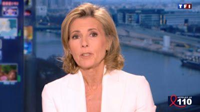 2013 04 07 - CLAIRE CHAZAL - TF1 - LE 20H @20H00