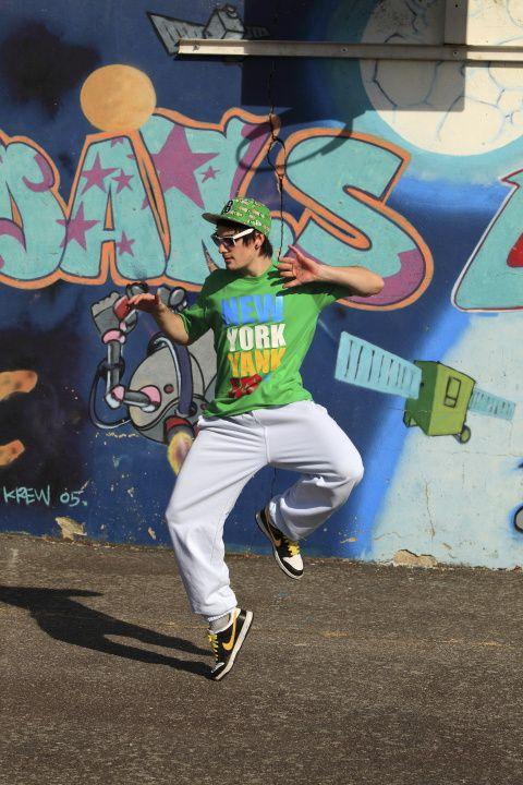 Séance de danse Hip Hop avec Loïc
