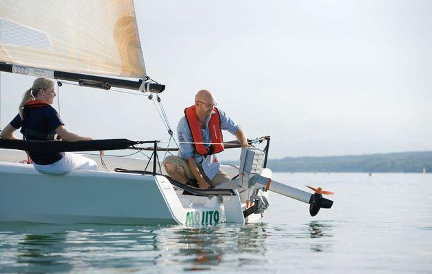 Verein Seglerhaus am Wannsee setzt Zeichen durch elektrisches Trainerboot mit Torqeedo Antrieb