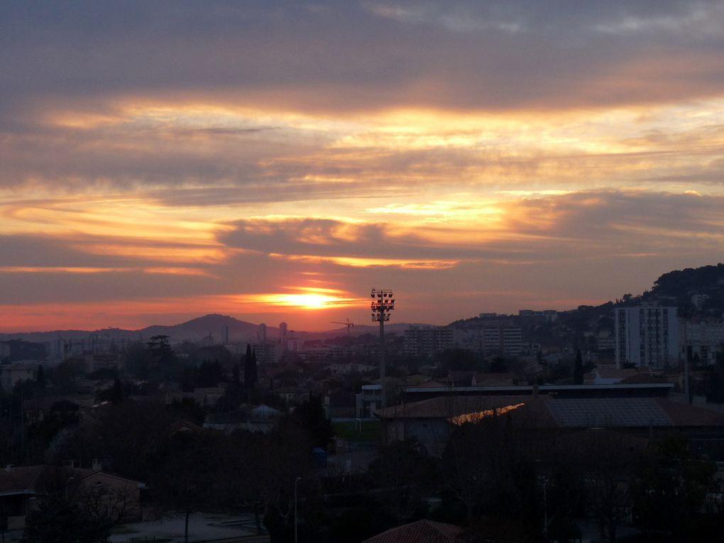 Coucher du soleil le 28 février 2015
