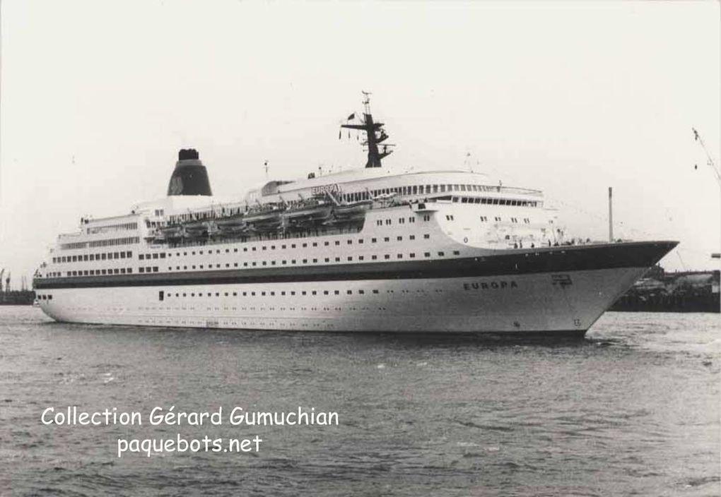Paquebot ''Europa'' 1982 - 1999