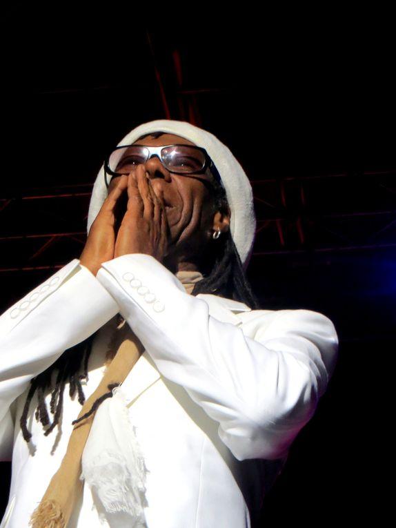 CHIC Feat. Nile Rodgers sur la scène du Campo Santo d'Orléans - Programmation de Stéphane Kocoyan