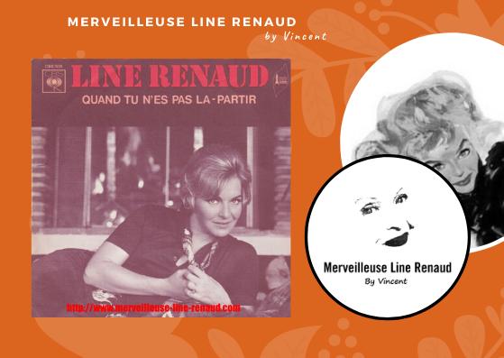 45 TOURS: 1969 CBS - CBS 7029 - Line Renaud