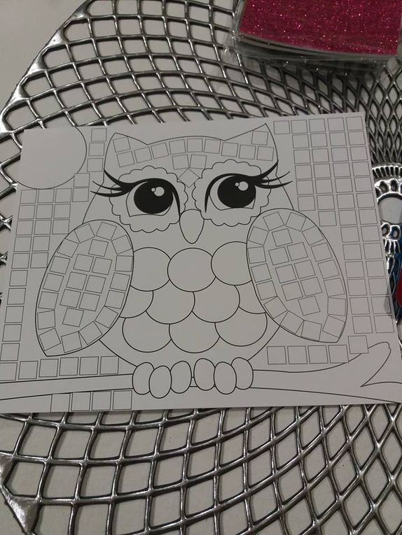 Travel Box - Mosaix de chez Joustra - Activité manuelle enfant !