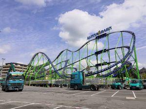 L'Olympia Looping et l'Alpina Bahn à la Schueberfouer de Luxembourg du 21 août au 12 septembre