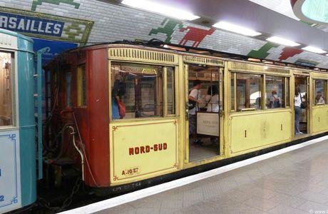 """Paris métro : Les cent ans de la ligne """"Nord-Sud"""" (ligne 12)"""
