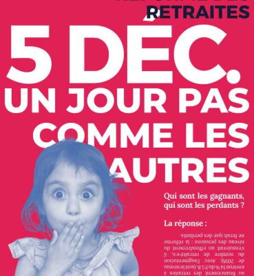 LE 5 DÉCEMBRE : UN JOUR PAS COMME LES AUTRES !