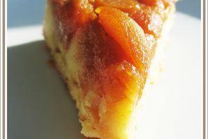 Gâteau renversé pommes et caramel au beurre salé