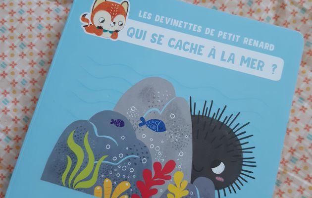 Les devinettes de petit renard : Qui se cache à la mer ?