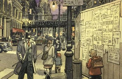 This on should get some buzz from the shrewd ones by Juanjo Guarnido, Tome 6 Blacksad