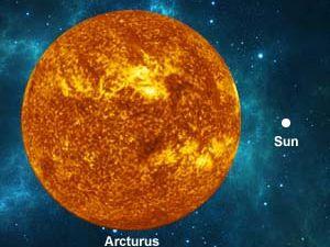 Il faut boire le volume en eau de l'étoile Arcturus pour choper UNE SEULE molécule active (comparaison Arcturus - Soleil - Terre)