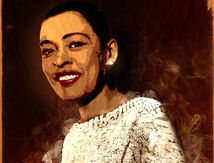 Billie Holiday by WebmyArt