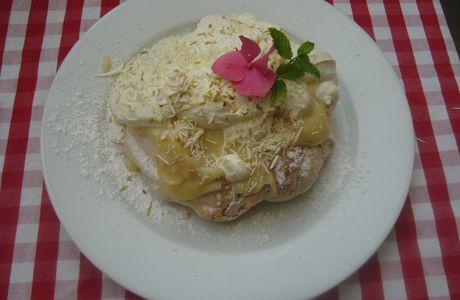 PavLova à la crème de citron