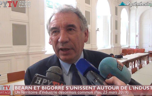 Béarn et Bigorre unis : François Bayrou (25 mars 19) | HPyTv La Télé des Pyrénées