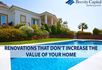 Renovations That Don't Increase The Value Of Your Home